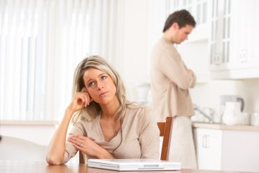 upset couple in the kitchen, personal injury