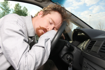 driver sleep at wheel, truck accident