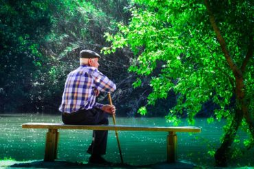 elder watching lake, nursing home abuse