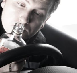Driver with booze_car accident lawyer