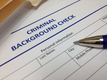 a criminal background check form, fcra attorney
